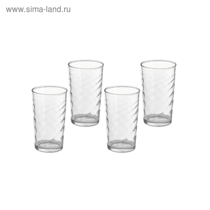 "Набор стаканов 350 мл ""Венеция"", 4 шт."