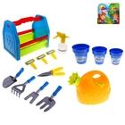 Набор садовых инструментов в переноске,14 предметов