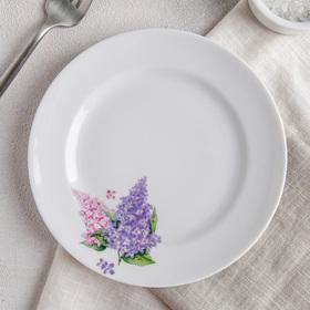 """Тарелка мелкая 17 см """"Сирень"""""""