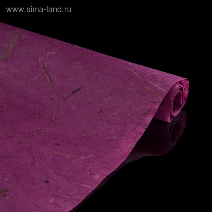 """Бумага упаковочная """"Дели"""", фиолетовая"""