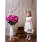 Платье нарядное Камила рост 98см (57), цвет белый