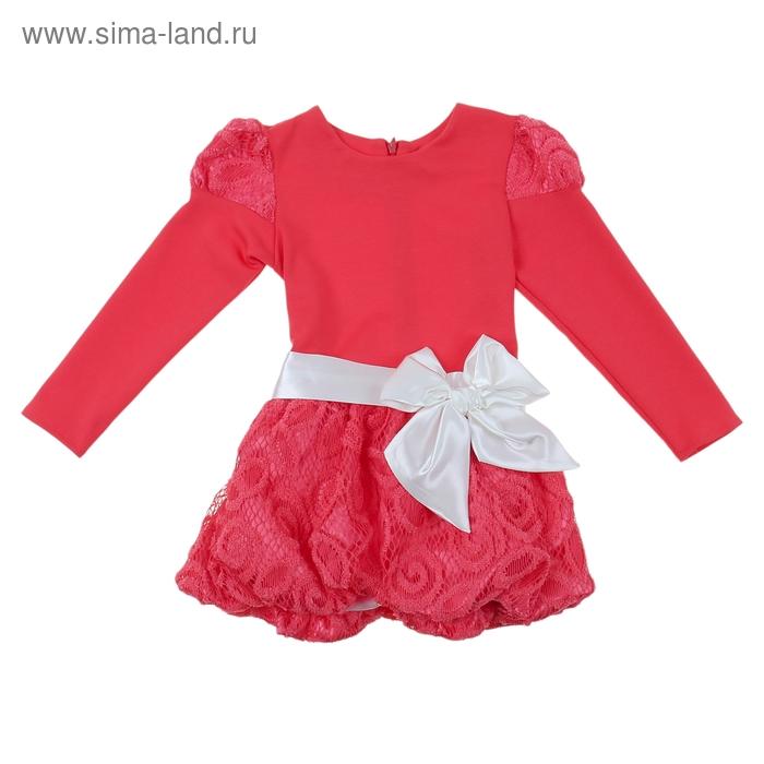 Платье Бриджет рост 116см (60), цвет красный