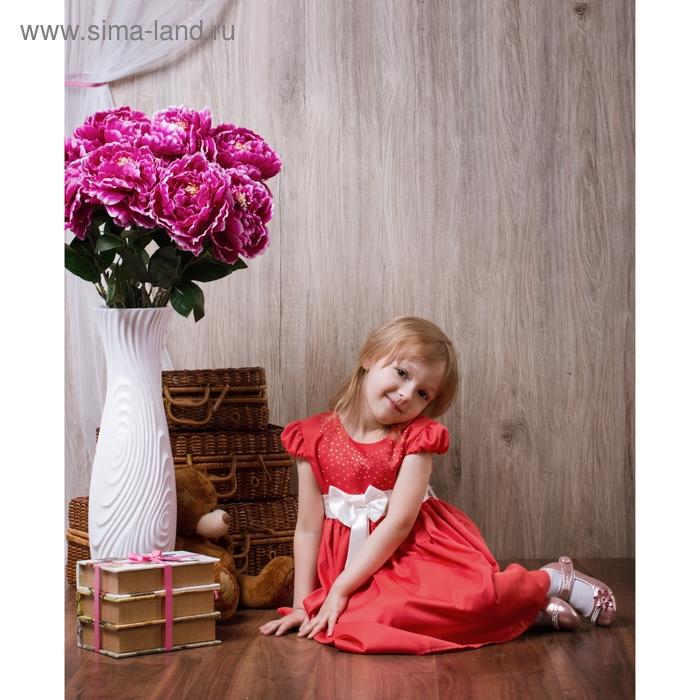 Платье Кристина рост 122см (62), цвет красный
