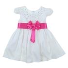 Платье Кристина рост 92см (56), цвет белый