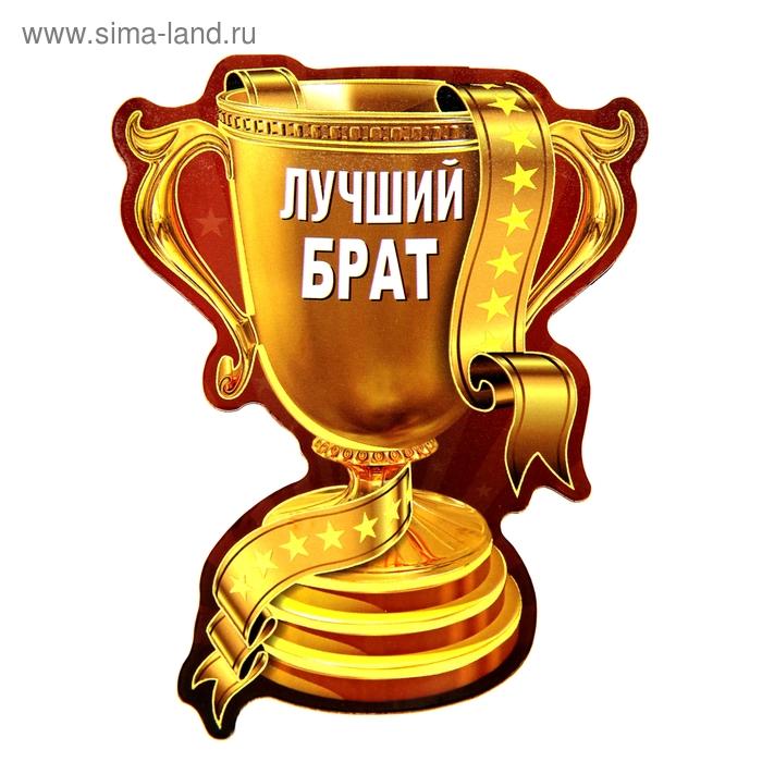 """Магнит-кубок """"Лучший брат"""""""