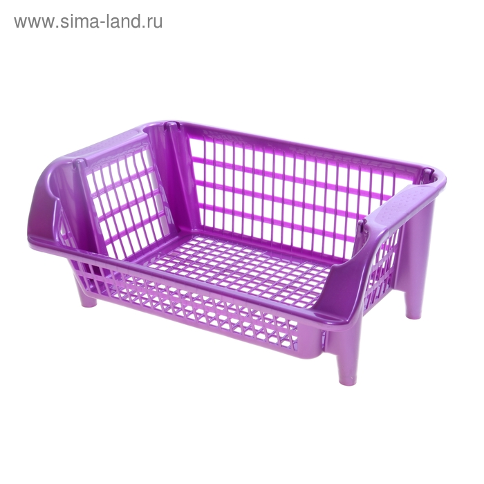 Этажерка фиолетовая, 1 секция
