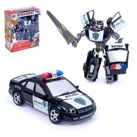 """Робот-трансформер """"Полицейский"""""""