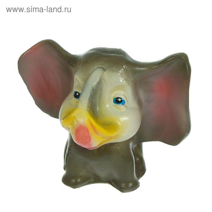 "Копилка ""Слон"" серо-розовая"