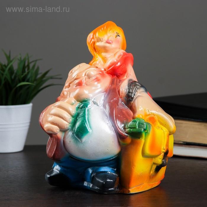 """Копилка """"Новый русский с секретаршей"""""""