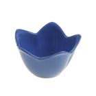 """Миска для снэков 250 мл """"Лилия"""", d=12 см, цвет синий"""