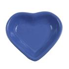 "Миска для снэков 200 мл ""Сердечко"", d=14 см, цвет синий"