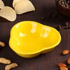 """Миска для снэков 200 мл """"Долька"""", d=13 см, цвет желтый"""