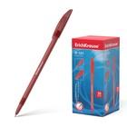 Ручка шариковая Erich Krause R-101 стержень красный, узел 1.0мм, EK 33513