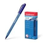 Ручка шариковая Erich Krause U-18, узел 1.0мм, чернила синие, трехгранная, одноразовая, длина линии письма 800м