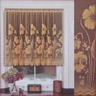 Штора без шторной ленты, ширина 140 см, высота 70 см, цвет светло-золотой