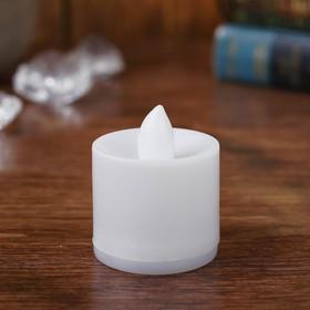 Свеча светодиодная, переливается