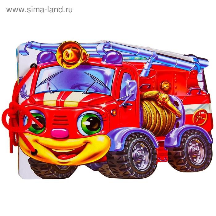 """Мягкие машинки """"Пожарная машина"""""""