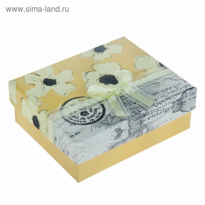 """Коробка подарочная """"Лето"""", цвет жёлтый"""