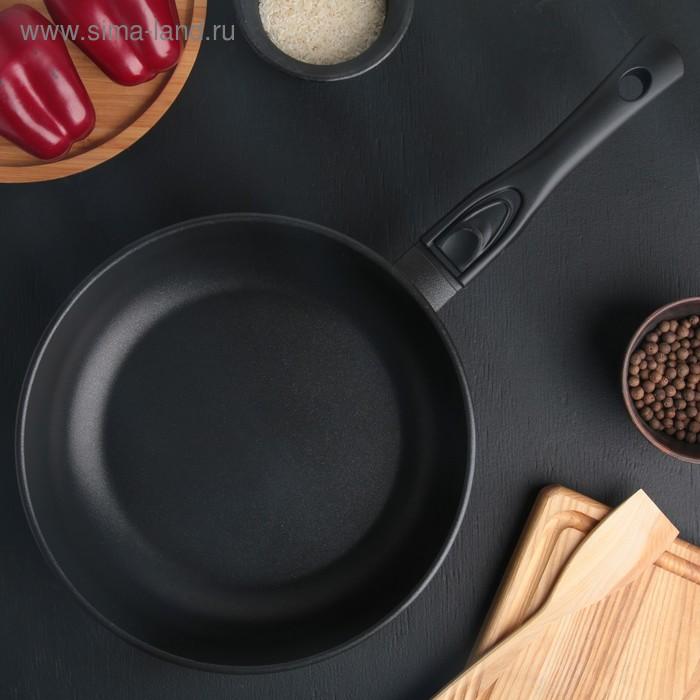 Сковорода-сотейник с антипригарным покрытием и съемной ручкой, 26 см