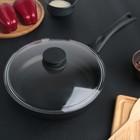 Сковорода с антипригарным покрытием 24 см с крышкой