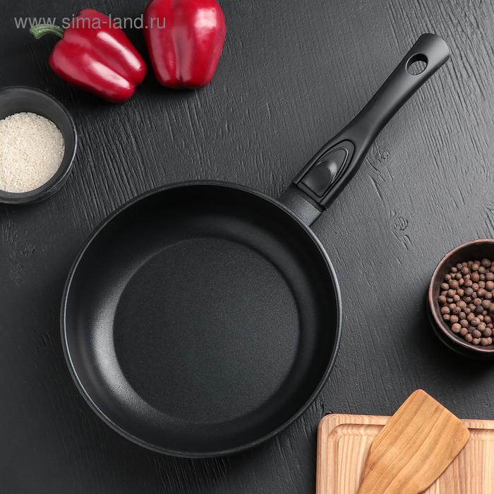 Сковорода-сотейник с антипригарным покрытием 24 см со съемной ручкой