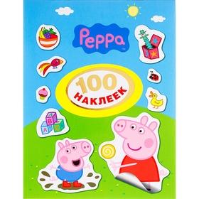 100 наклеек «Свинка Пеппа»