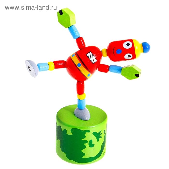 """Дергунчик - марионетка """"Весёлый робот"""""""