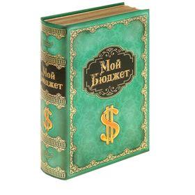 """Книга-сейф """"Мой бюджет"""""""