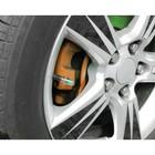 Индикатор уровня давления в шинах, колпачок на ниппель, 2.0 атм., 4 шт.
