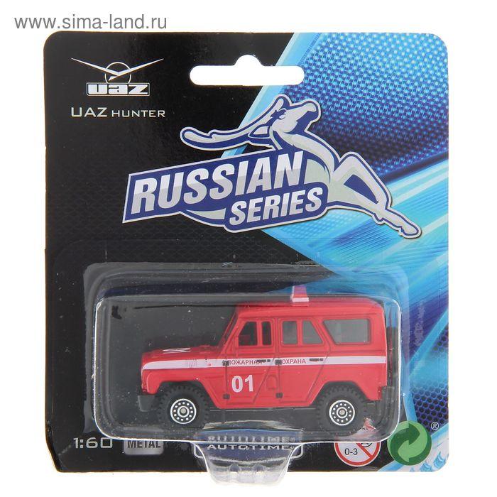 """Модель машины """"UAZ Hunter"""" МИКС, 1:60"""