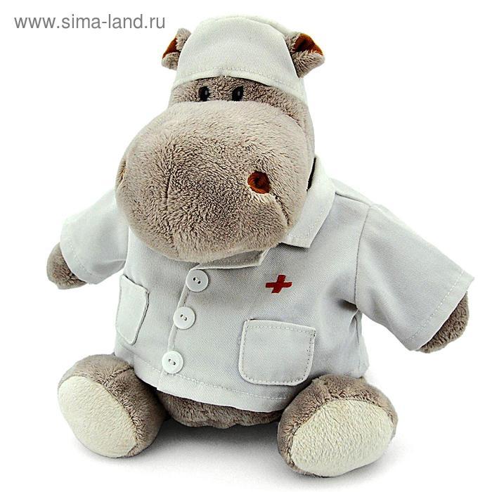 Мягкая игрушка «Бегемот Любимый доктор»