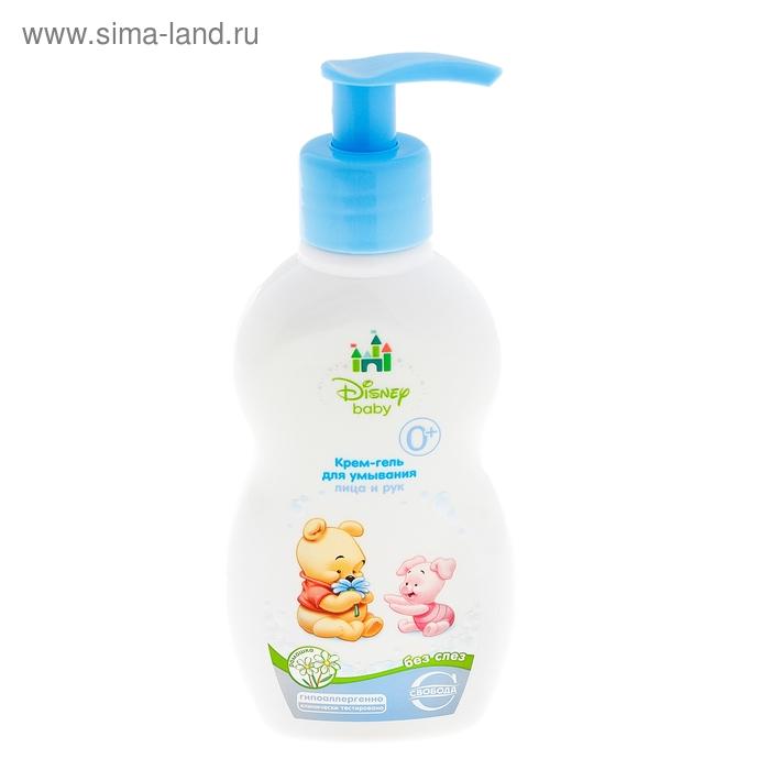Крем-гель детский для умывания лица и рук с экстрактом ромашки Disney Baby без слез 0+, 250 мл