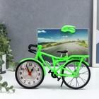 """Фоторамка """"Велосипед"""" 10 х15 см, с часами, микс"""