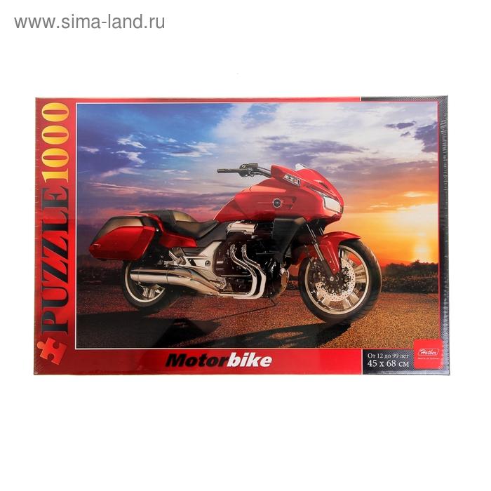 """Пазлы """"Мотоцикл на закате"""" 1000 эл. 1000ПЗ2_03120"""