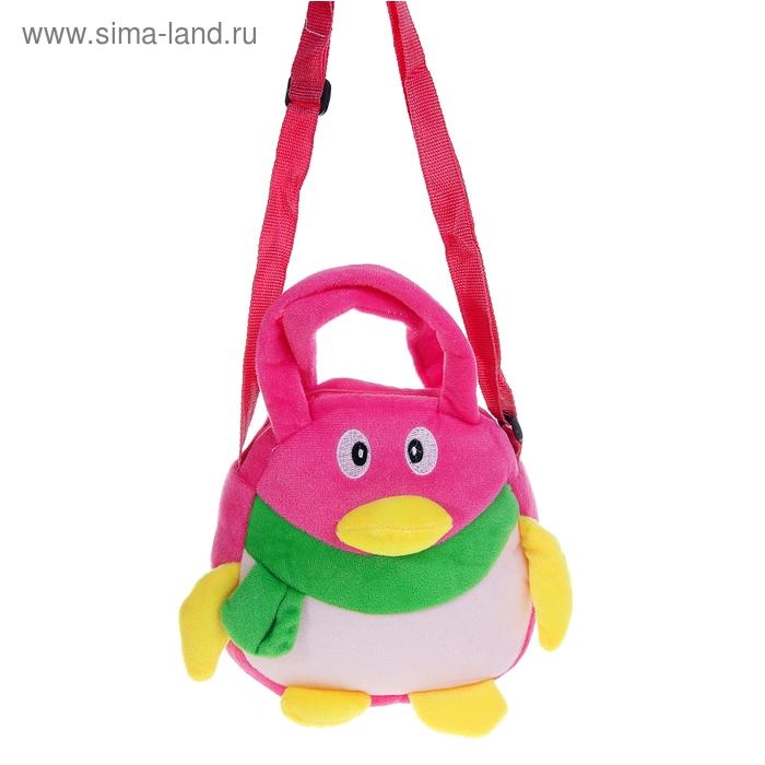 "Мягкая сумочка ""Пингвин"", цвета МИКС"