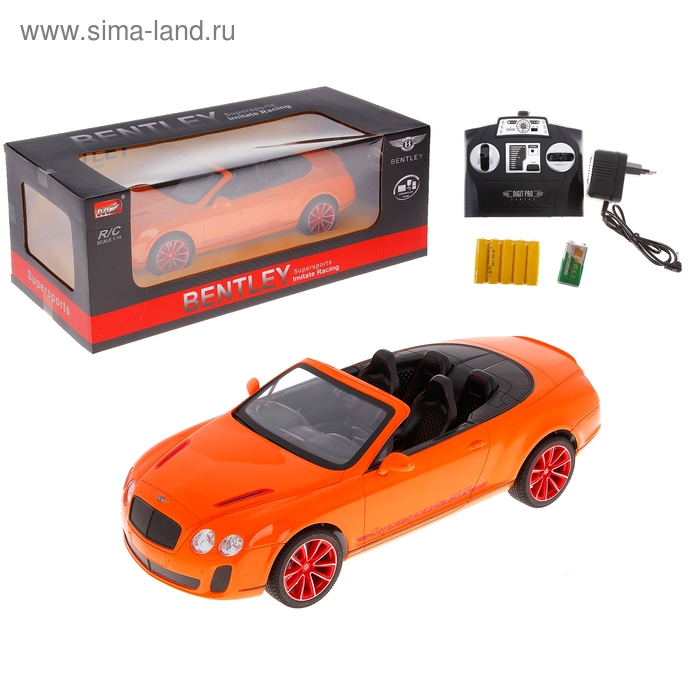 Машина на радиоуправлении Bentley Continental Roadster, масштаб 1:14, МИКС