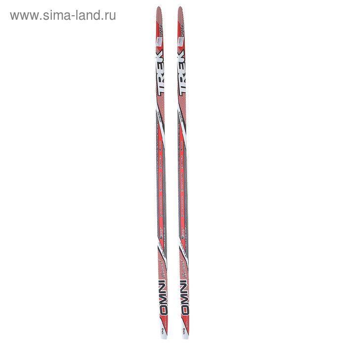 """Лыжи пластиковые """"TREK Omni"""" (170 см, цвет: красный)"""
