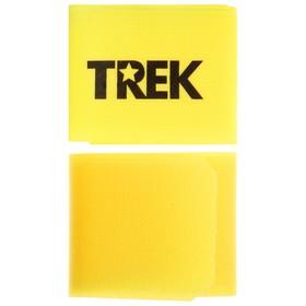 Зажим-липучка для лыж TREK, цвет желтый Ош