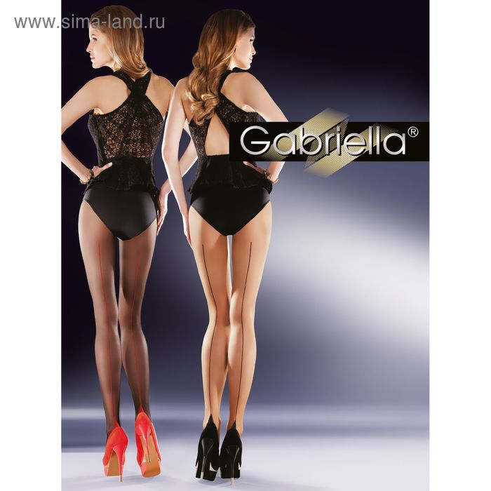 Колготки женские GABRIELLA BELLA 20 (beige/nero, 2)