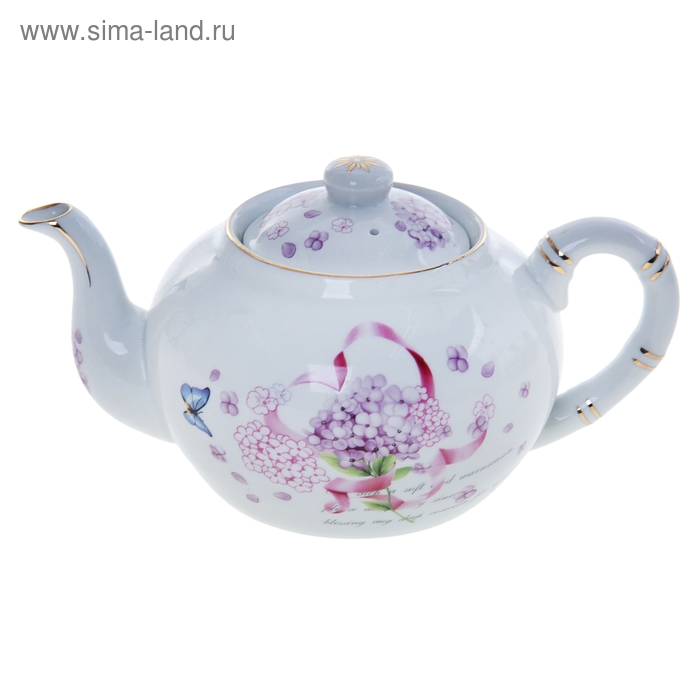 """Чайник заварочный 800 мл """"Сирень"""""""