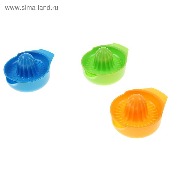 Соковыжималка 14х10х7 см, цвета МИКС