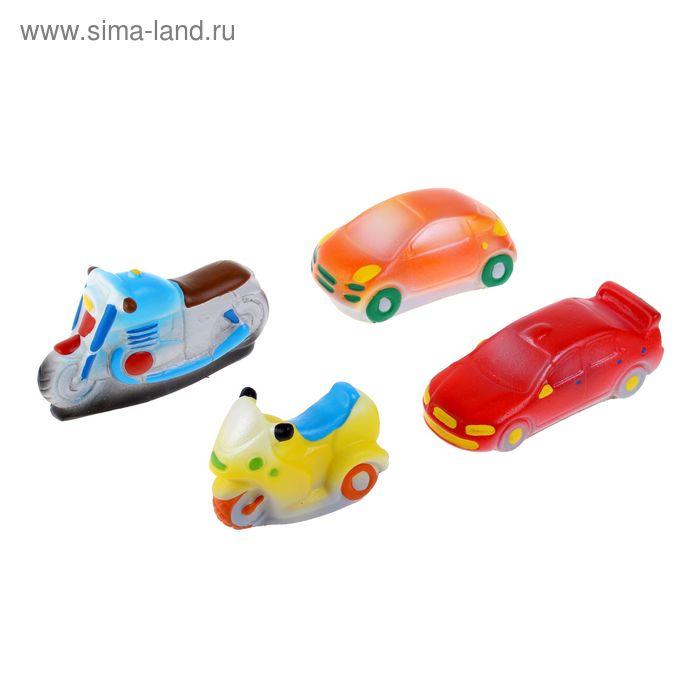 """Набор резиновых игрушек """"Транспорт"""""""