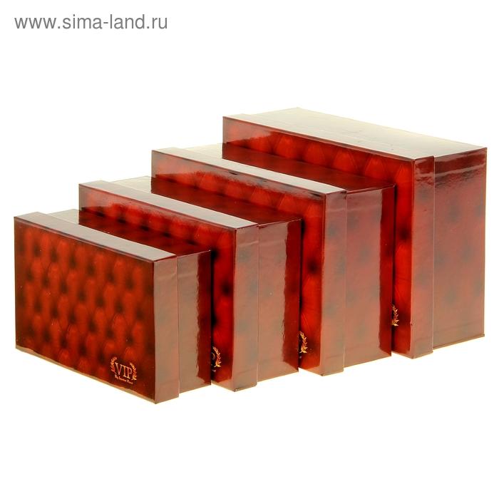 """Набор подарочных коробок 4 в1 """"VIP"""""""