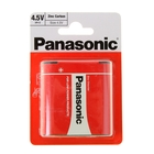 Батарейка солевая Panasonic 3R12 Zinc Carbon, блистер, 1 шт.