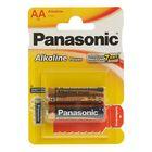 Батарейка алкалиновая Panasonic LR06 Alkaline Power, блистер, 2 шт,
