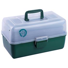 Ящик спиннингиста, 36 х 20 х 23 см, 3 лотка