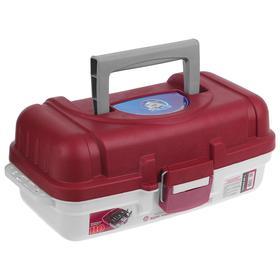 Ящик рыболовный ЯР-1, размер 36х19х15 см, 1 лоток