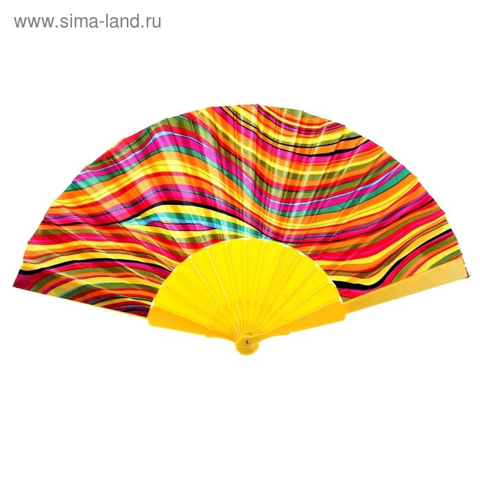 "Веер ""Радуга"", цвет жёлтый"