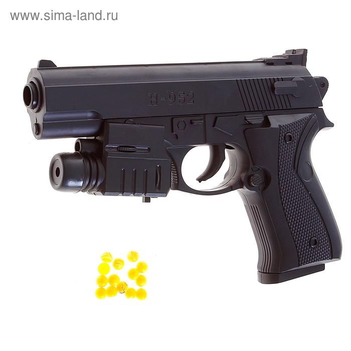 """Пистолет пневматический """"Стрелок"""", с лазером"""