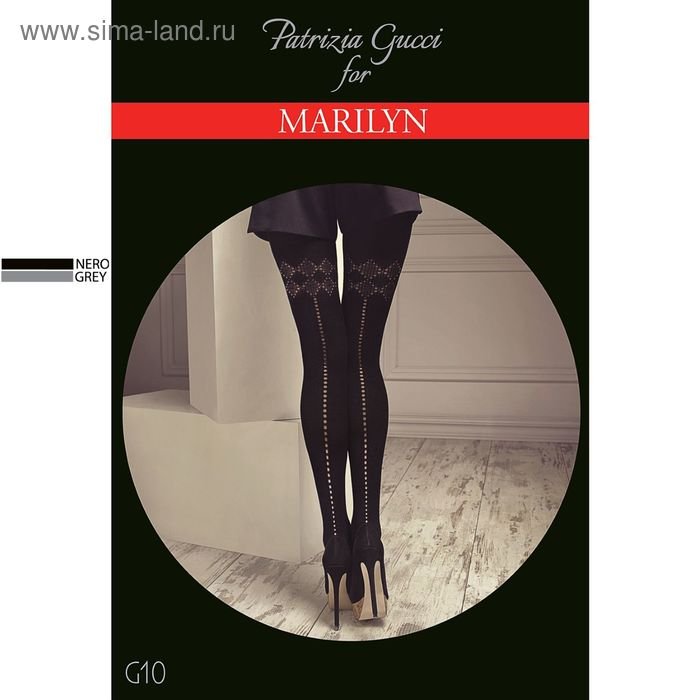Колготки женские MARILYN GUCCI G10 120 (grey, 3/4)